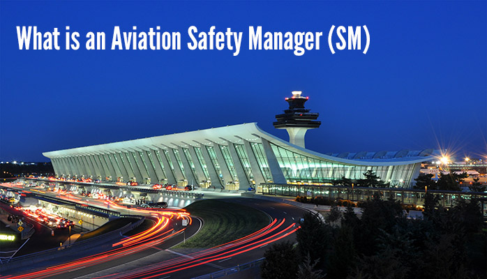 What is an aviation safety manager?