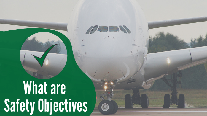 What are Safety Objectives in Aviation Safety Programs?