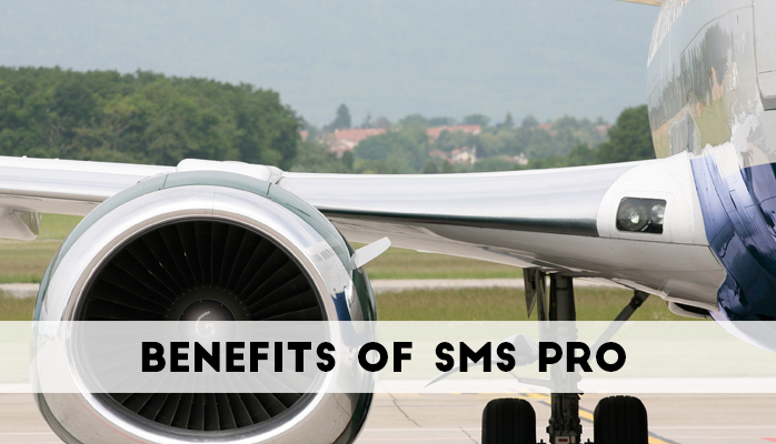 Benefits of SMS Pro Aviation SMS Software Solutions